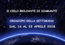 Oroscopo della settimana dal 16 al 22 Aprile 2018