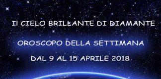 Oroscopo della Settimana dal 9 al 15 Aprile 2018