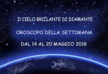 Oroscopo della settimana dal 21 al 27 Maggio 2018