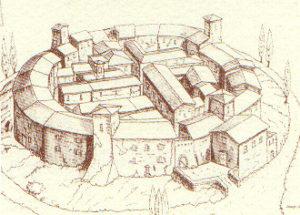 castello di ripa riproduzione storica