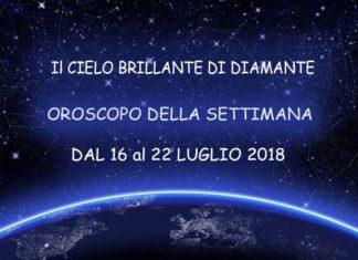 Oroscopo della Settimana dal 16 al 22 Luglio 2018