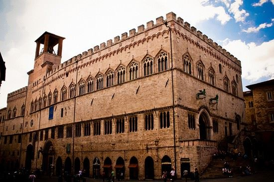Palazzo dei Priori a Perugia