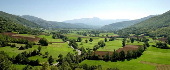 le splendide zone della Val Nerina