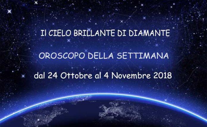 Oroscopo della Settimana dal 29 ottobre al 4 novembre