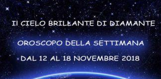 oroscopo della settimana dal 12 al 18 novembre 2018