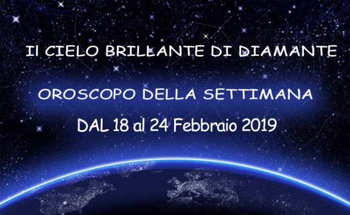 oroscopo della settimana dal 18 al 24 febbraio