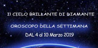 Oroscopo della settimana dal 4 al 10 Marzo 2019