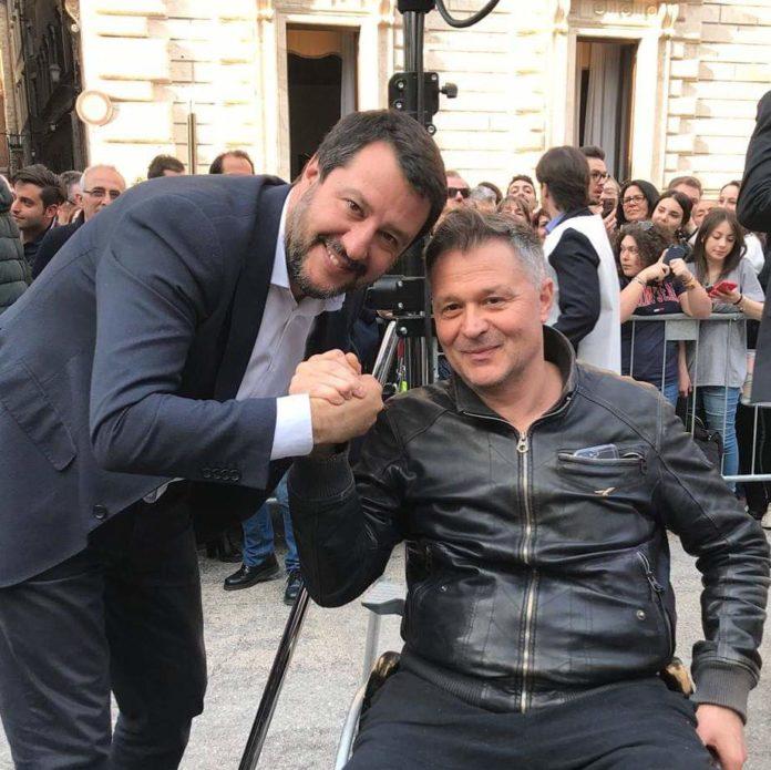 Stefano Zuccarini e Matteo Salvini