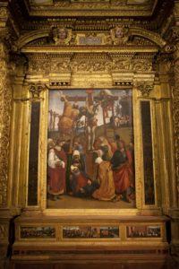 Deposizione al Museo Comunale Santa Croce