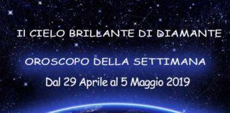 oroscopo della settimana dal 29 aprile