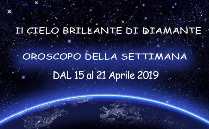 Oroscopo della Settimana dal 15 al 21 aprile