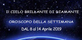 Oroscopo della settimana dal 8 al 14 aprile 2019
