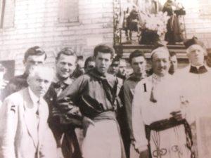 Foto 1956, alcuni Ceraioli tra cui Guido Minelli