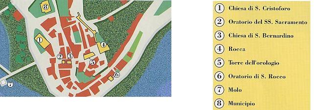 Passignano sul trasimeno mappa