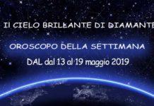 oroscopo della settimana dal 13 al 19 maggio