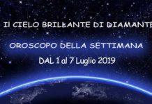 oroscopo della settimana dal 1 al 7 luglio