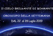 Oroscopo della settimana dal 22 al 28 luglio 2019