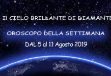 Oroscopo della settimana dal 5 al 11 agosto 2019