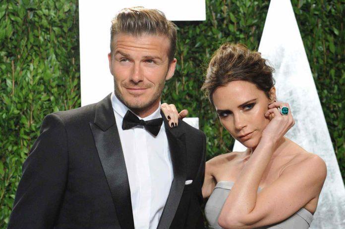 David e Victoria Beckham in vacanza in Umbria