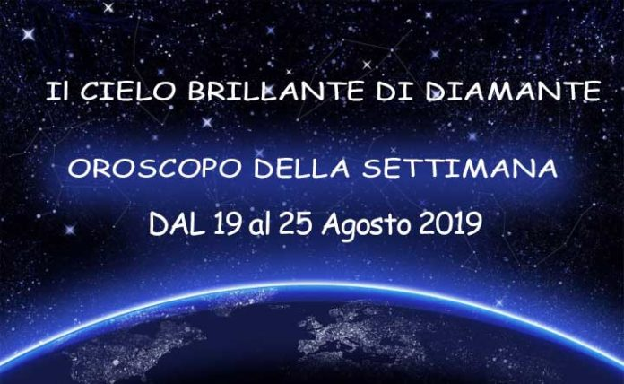 Oroscopo della Settimana dal 19 al 25 Agosto 2019