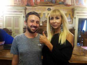L'ing Marco Togni e il Consigliere Caterina Lucangeli