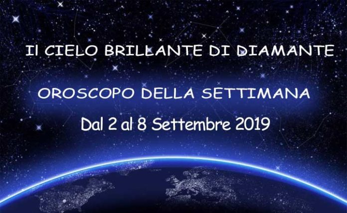 Oroscopo della settimana dal 2 al 8 settembre