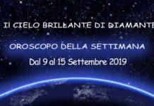 Oroscopo della Settimana dal 9 al 15 Settembre 2019