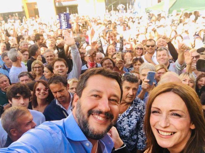 Matteo Salvini e la piazza