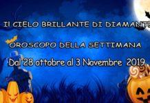 Halloween Oroscopo della settimana dal 28 Ottobre