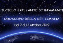 Oroscopo della Settimana dal 7 al 13 Ottobre 2019