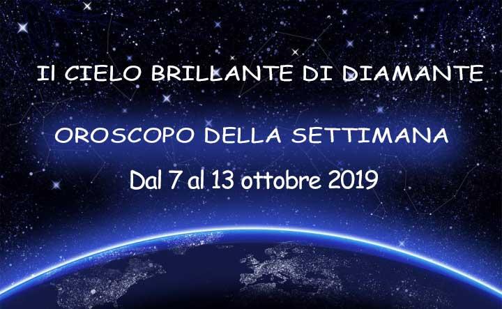 Oroscopo dal 7 al 13 ottobre!