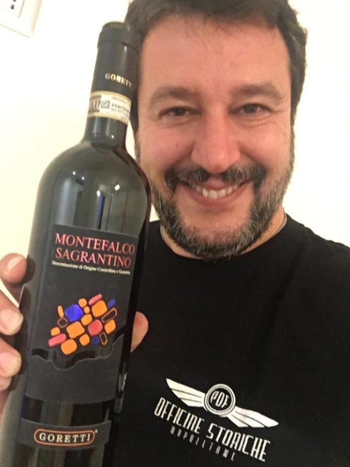 Salvini e Sagrantino di Montefalco