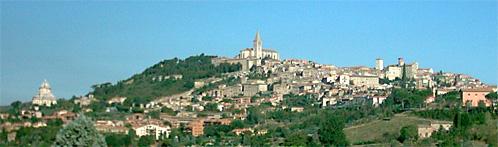 Panorama di Todi