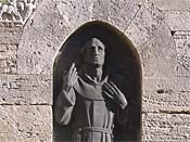 statua di Jacopone da Todi