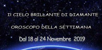 oroscopo della settimana dal 18 al 24 novembre