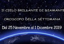 Oroscopo della Settimana dal 25 Novembre al 1 Dicembre 2019