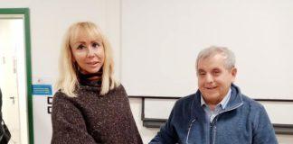 Conisgliere Caterina Lucangeli e il Prof. Mingarelli