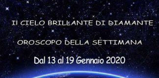 Oroscopo della Settimana dal 13 al 19 Gennaio 2020