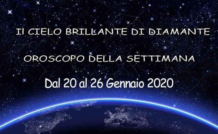 Oroscopo della settimana dal 20 al 26 gennaio 2020