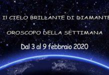 oroscopo della settimana dal 3 al 9 febbraio 2020