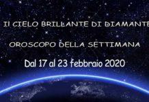oroscopo della settimana dal 17 al 23 febbraio 2020