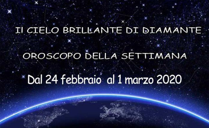 Oroscopo della settimana dal 24 febbraio al 1 marzo 2020