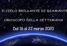 oroscopo della settimana dal 16 al 22 marzo 2020