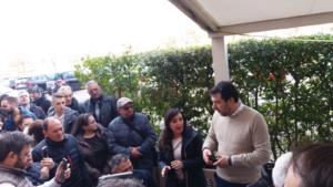 Salvini a Foligno, (foto Andreea Taranu)