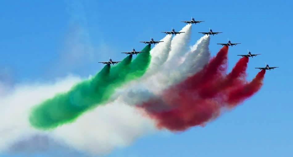 AMI. 2 giugno: da oggi giro d'Italia aerei