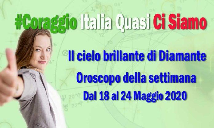 Oroscopo della Settimana dal 18 al 24 Maggio 2020