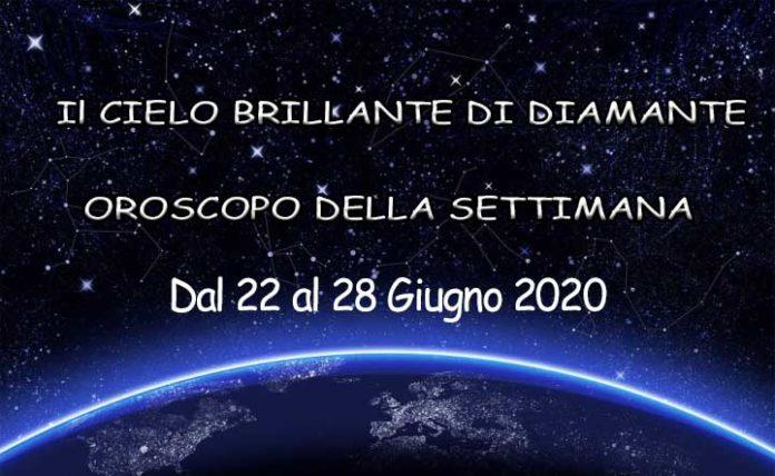 Oroscopo della settimana dal 22 al 28 ottobre 2020
