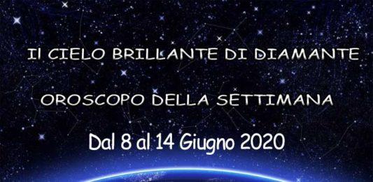 oroscopo della settimana dal 8 al 14 giugno 2020