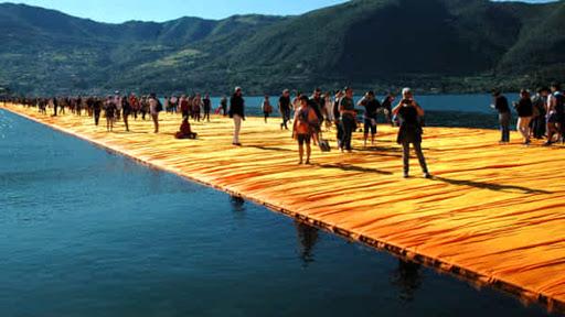 Christo Passerella sul Lago di Iseo