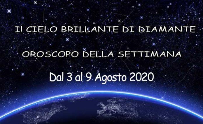 Oroscopo della settimana dal 3 al 9 Agosto 2020
